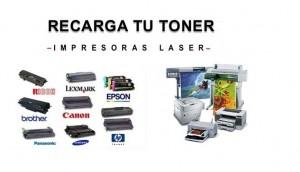recarga de impresora hp 2600 samsung, lexmark, canon, etc...