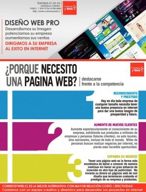paginas web para pymes + posicionamiento google, santiago centro