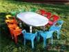 Mesas y sillas para niños