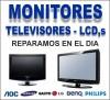 monitores reparaciones a domicilio plasma-lcd-tft-len-